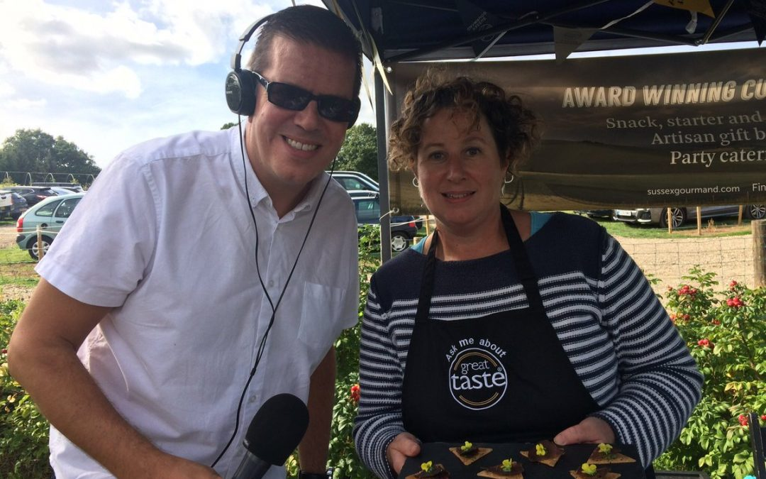 Taste test live on BBC radio Surrey and Sussex