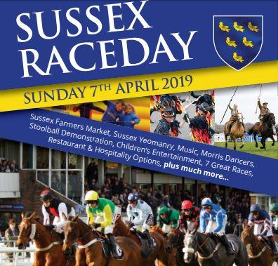 Horse racing, Sussex artisan food, music and morris dancing