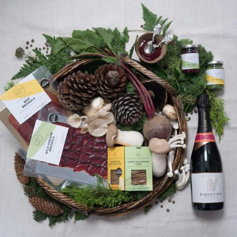 Free local delivery for our gourmet hampers