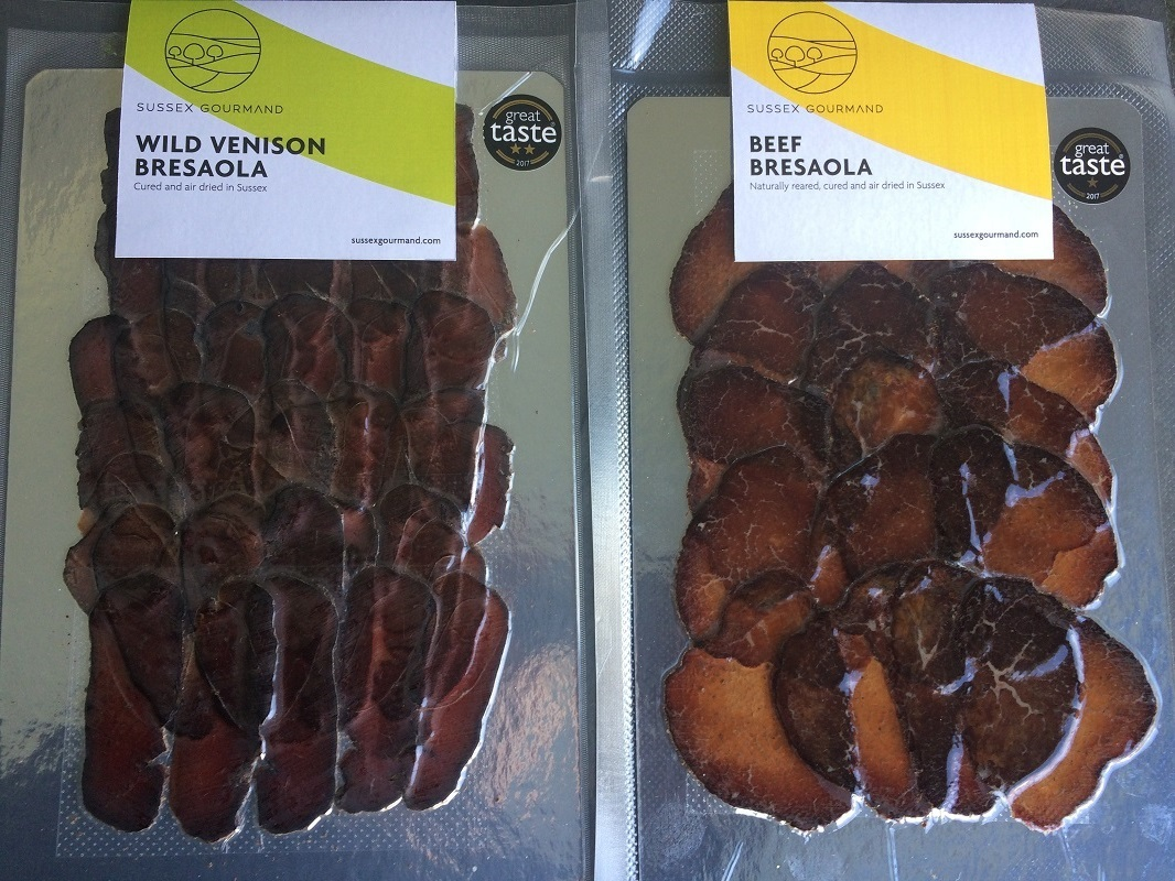 beef and venison bresaola
