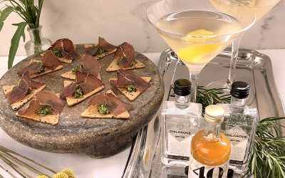 Sussex Martini and canapés – the perfect gift for James Bond