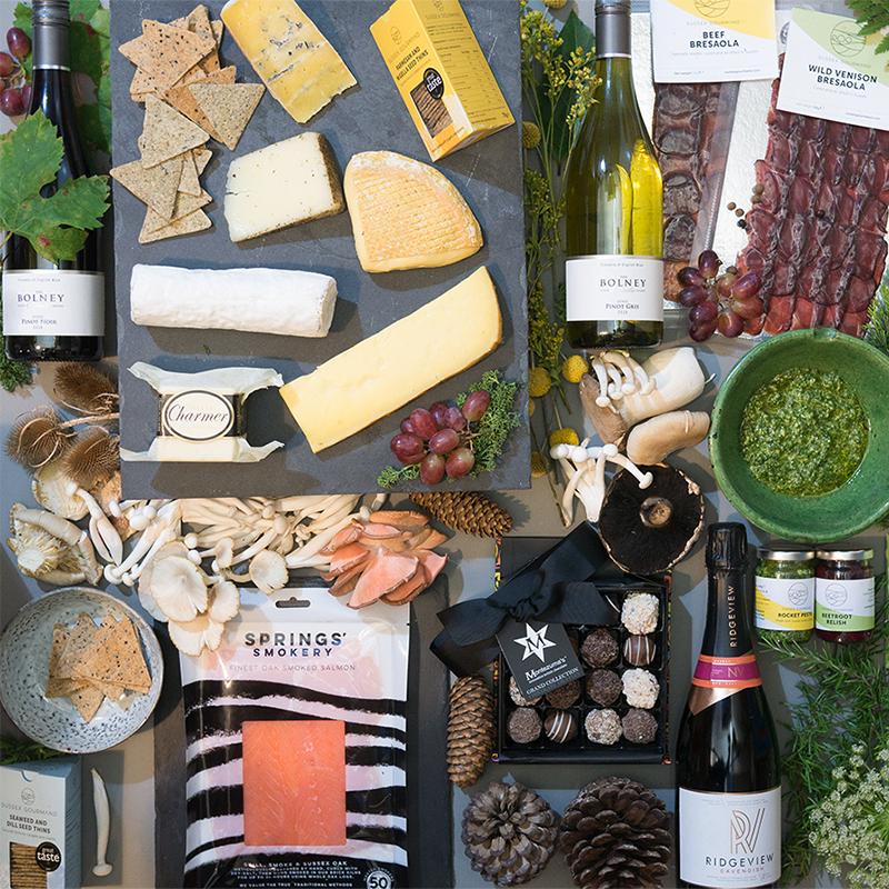 Luxury gourmet food hamper