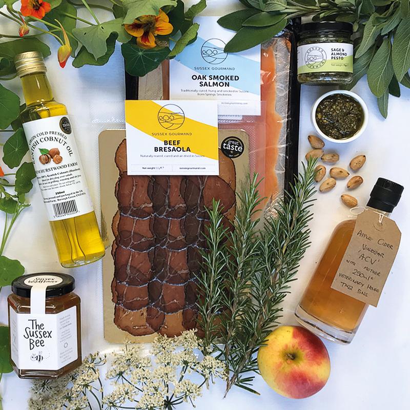 Immune boosting gourmet gift box