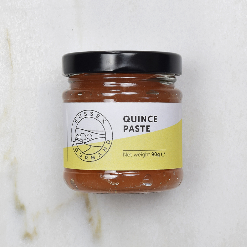 Delicious quince paste made in the style of Membrillo