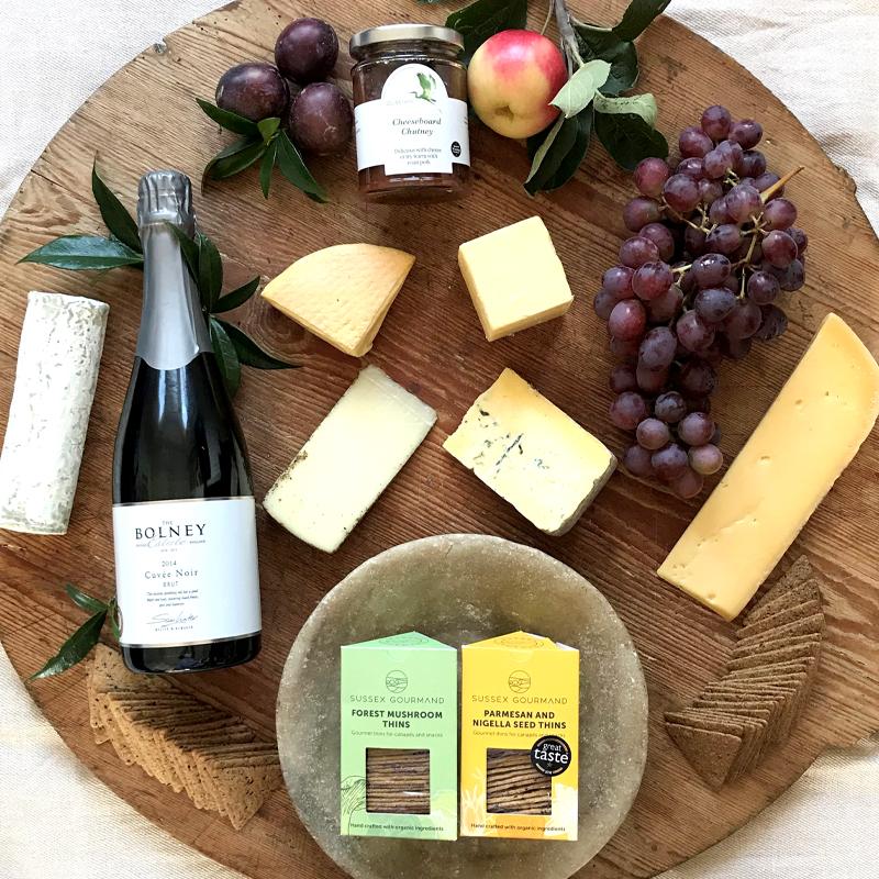 Cheese and Cuvee Noir Hamper