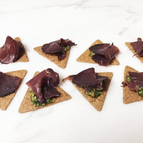 Forest canapes